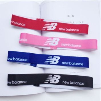 New Balance Sports And Leisure Letters Simple Hair Band