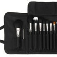 Premium Professional Kit with Brush Roll - Black