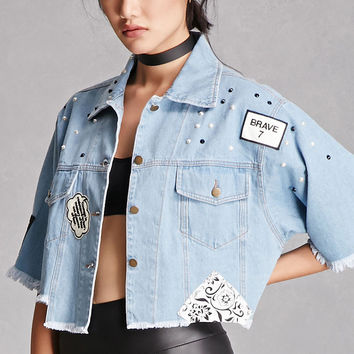 Rehab Patch Denim Jacket