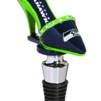 Seattle Seahawks Shoe Bottle Stopper