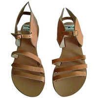 Greek sandals with wings/winged sandals
