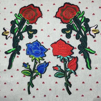Blue Rose Patch-Multi