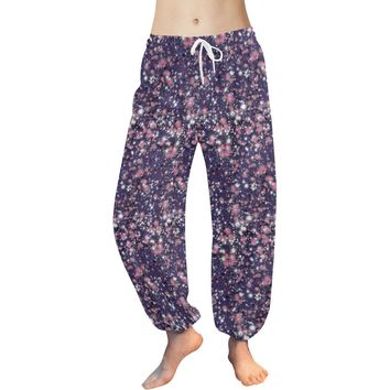 """Harem Pants in """"Starry Nights """" Design by Leah Quinn"""