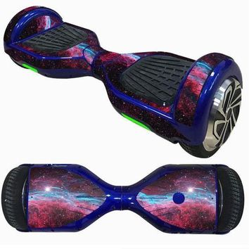 DCCK1IN 2017 new 6 5inch self balancing scooter skin hover electric skate board sticker two wheel smart protective cover case stickers