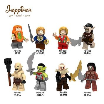 Joyyifor Imperial The Lord of the Rings Gandalf Frodo Collectible Building Blocks Compatible with Legoingly Military Soldiers