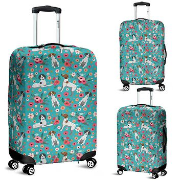 German Shorthaired Pointer Flower Luggage Cover