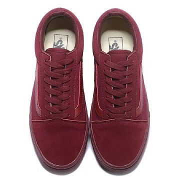 Vans Classics Old Skool wine red Sneaker
