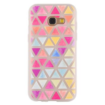 Ultra-thin Colorful Geometric Pattern Cellphone Case for Samsung