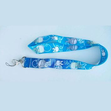 Brand New Japan Anime Totoro Blue Lanyard