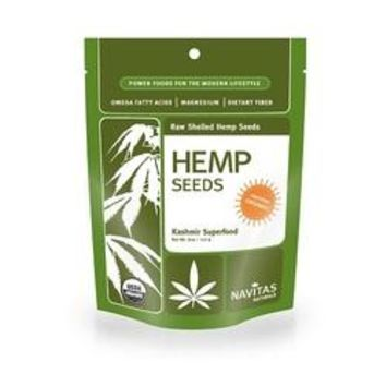 Navitas Naturals Organic Hemp Seeds Shelled (12x8 OZ)