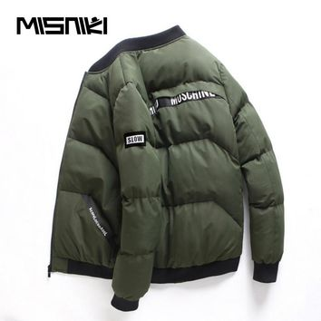 Winter Jacket Men Parka Casual Warm Youths Kids Winter Coat Lovers Jacket Winter Coat