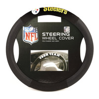 Pittsburgh Steelers NFL Mesh Steering Wheel Cover