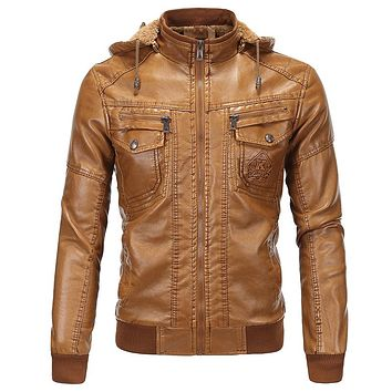 Men's Faux Leather Jackets Designer Leather Suede Michael Jackets