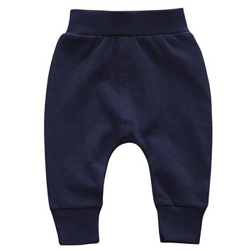 2017 Autumn Winter Thick Pants Newborn Infant Baby Boys Girls Pants Bloomers PP Long Harem Pants Bebe Leggings