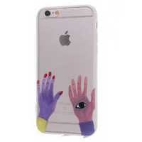 Hands Eye Phone Case For iPhone 7 7Plus 6 6s Plus 5 5s SE