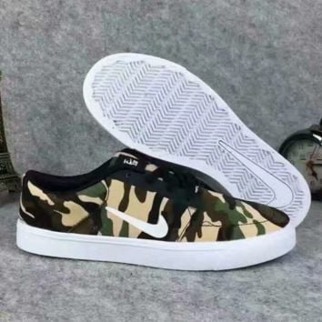 NIKE Camouflage Men Sport Casual Shoes Sneakers