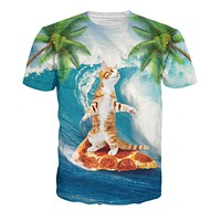 Surf Cat T-Shirt