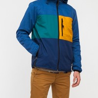 Topman / Colour and Fabric Mix Hoody