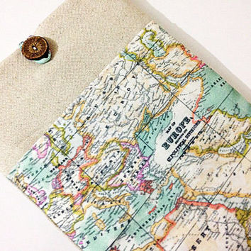 "World Map, Europe Map, Laptop Sleeve 15.6 , Laptop Case, 13.3"" MacBook Case, 11.6"" MacBook Air Case, 15.6"" MacBook Pro"