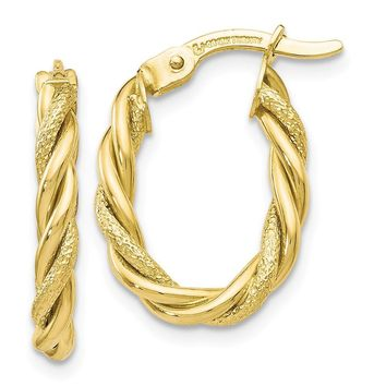 Leslies 10k Gold Earrings