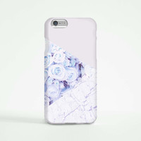 iPhone 6 Case, iPhone 6 Plus Case, iPhone 5S Case, iPhone 6, iPhone 5C Case, iPhone 4S Case, iPhone 4 Case - Marble Purple Rose