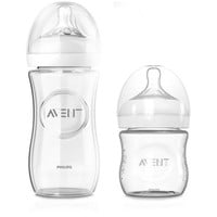 AVENT Natural 3-Pack Glass Bottles