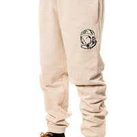 The Helmet Sweatpants in Heather Oatmeal