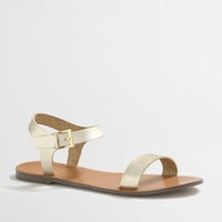 Factory ankle-strap sandals