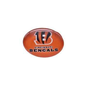 Snap Button 18mmX25mm Cincinnati Bengals Charms Snaps Bracelet for Women Men Football Fans Gift Paty Birthday Fashion 2017