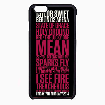 Taylor Swift Red poster FOR IPHONE 6 CASE NEWEST **