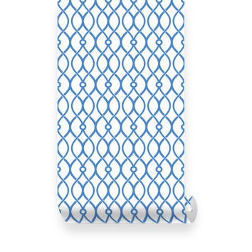 Trellis Pattern Peel & Stick Fabric WallPaper