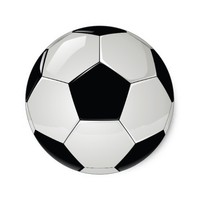 Sports Soccer Football Party Classic Round Sticker