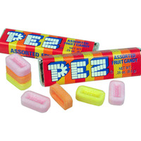 PEZ Fruity Candy Refills 6-Packs: 12-Piece Box