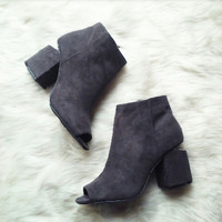The Laredo Grey Ankle Bootie RESTOCK Pre-Order