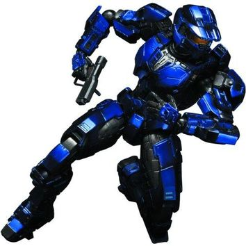 Square Enix Halo: Play Arts Kai: Blue Spartan Action Figure