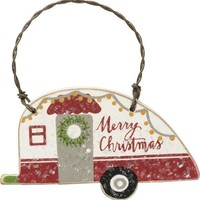 Happy Camper Tree Ornaments - 3 Styles