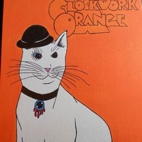 A Clockwork Orange Cat