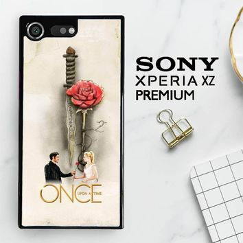 Once Upon A Time Rose X3423 Sony Xperia XZ Premium Case