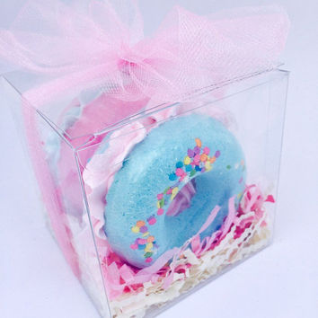 Bath Bomb Gift Set - Donut Bath Bomb - Birthday Gift - Bath Bombs for Kids - Best Friend Gift - Gifts for Kids - Gifts under 20 - Bath Bomb