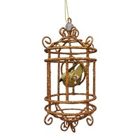 St. Nicholas Square Birdcage Christmas Ornament