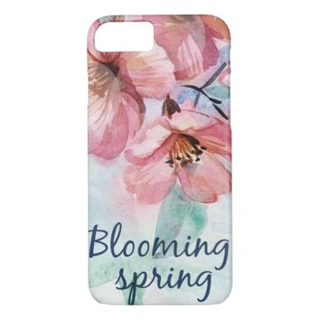 Blooming Spring iPhone 8/7 Case