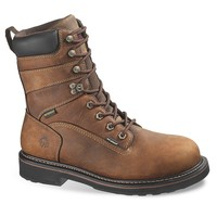 Wolverine Brek Men's Waterproof 8-in. Work Boots (Brown)