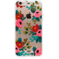 Clear Rosa iPhone 6 Clear Case by RIFLE PAPER Co. | Imported