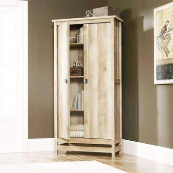 Cottage Style Wardrobe Armoire Storage Cabinet