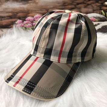 Burberry Newest Popular Women Men Sports Uv Protection Sun Hat Visor Hat Cap