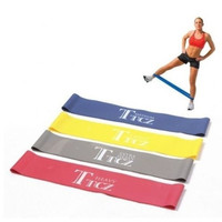 1 pc  New Ankle Workout Exercise Leg Butt Lift Resistance Bands Fitness CrossFit Loop = 5617000961
