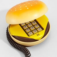 Hamburger Phone | Shop Novelty Electronic Gifts | fredflare.com