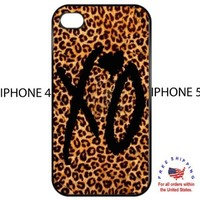 The Weeknd XO Cheetah Iphone 4 4s Hardcover Case