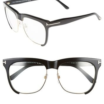 Women's Tom Ford 'Thea' 55mm Optical Glasses