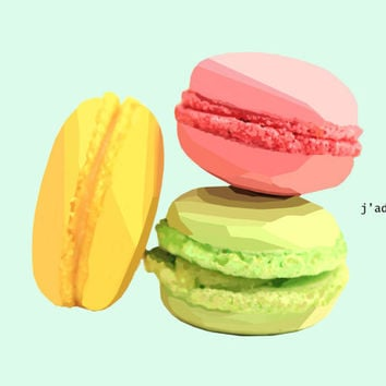 Poster - Cute Macaron Fashion Poster - Small